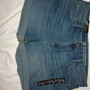 NWT Gap Sexy Boyfriend Shorts